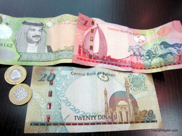 Currency -- Bahrain Dinars