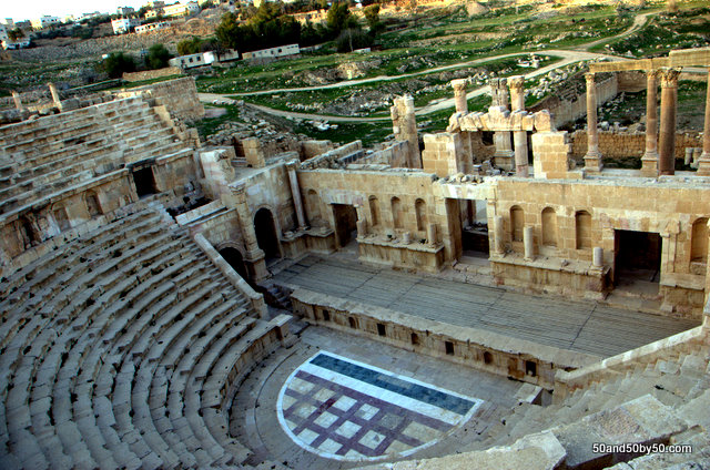 Roman theater in Jerash (Gerasa)