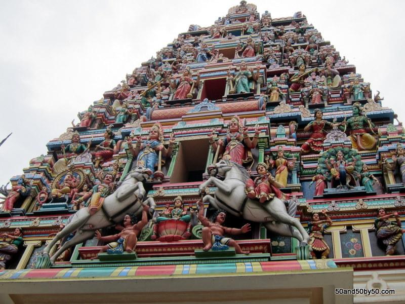 Kuala Lumpur temple in Malaysia