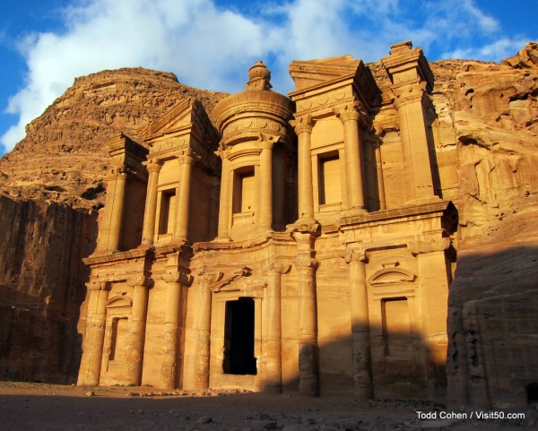 The Monastery in Petra / Jordan