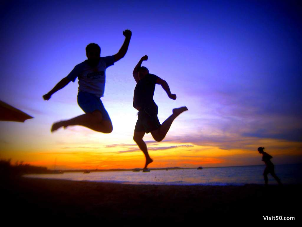Turks - no trip is complete without jumping pics!
