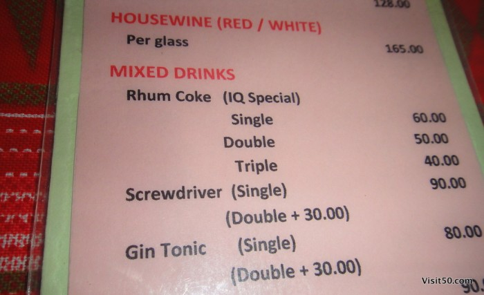 Rum is cheaper than coke on Malapascua Island in the Philippines