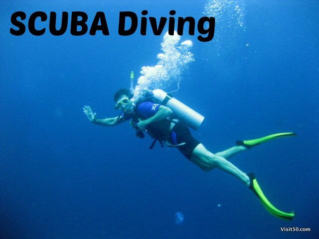Scuba diving Visit50